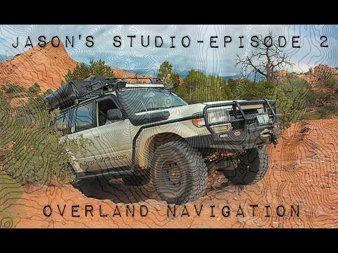 Jason Studio - Episode 2: Overland Navigation Gaia Vs Motion X