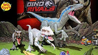 INDOMINUS REX SWALLOWS OWEN!! Destroy N Devour Dino Rivals Unboxed Mattel Jurassic World 2