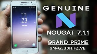 ▶Install TouchWiz -Nougat 7.1.1 On Grand Prime [G530H/F/M/Y/W/FZ/VE/BT] [In Hindi]