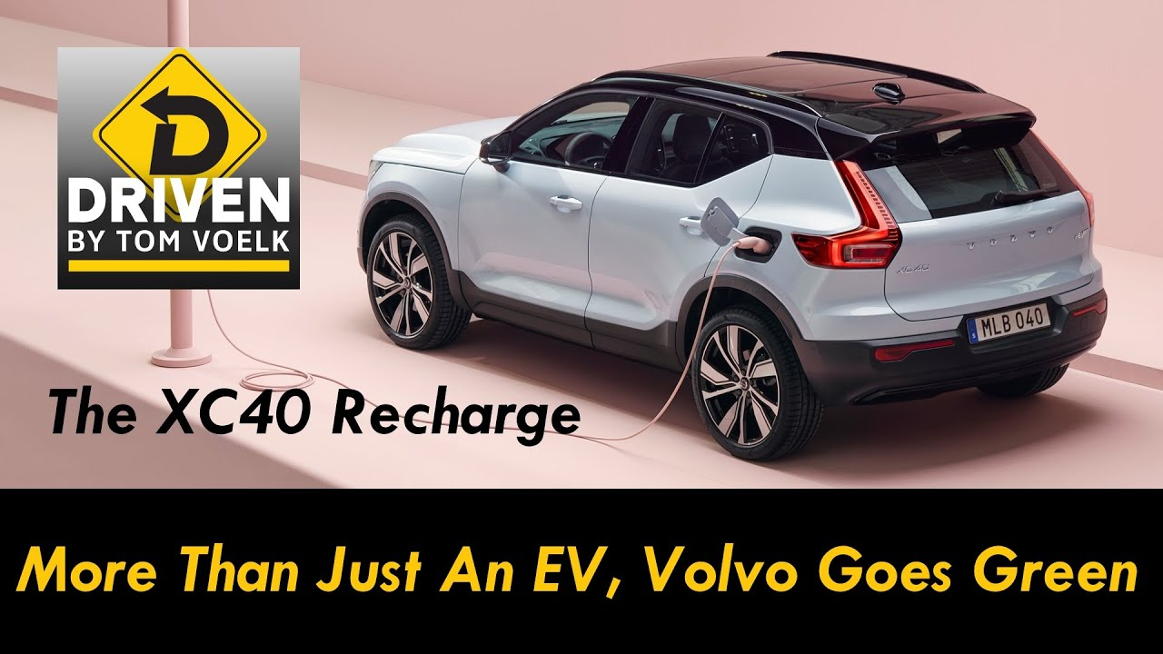 First Look The Xc40 Recharge Volvo S First Fully Electric Suv
