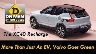 First Look! The XC40 Recharge, Volvo's First Fully Electric SUV.