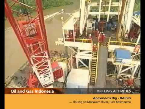 DRILLING ACTIVITIES - Apexindo's Offshore Rig RAISIS #2