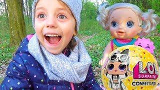 LOL Surprise ЛЯЛЬКА ЛОЛ единорожка МОЯ МРІЯ втратили пляшечку Baby Alive ПІКНІК у лісі