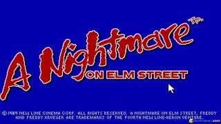 Nightmare on Elmstreet gameplay (PC Game 1989)