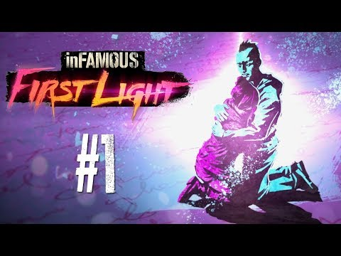 inFamous First Light #1 - Pink and Blue