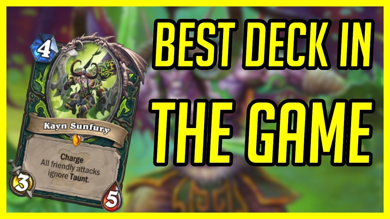 Best Deck in the Game | Hearthstone | Tempo Demon Hunter | Ashes of Outland