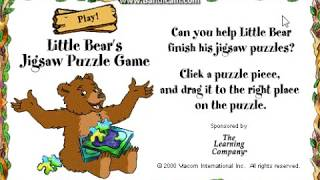 Little Bear - Jigsaw Puzzles (2000 Shockwave Game)