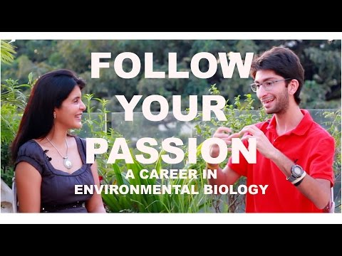 Follow Your Passion -  Career in Environmental Biology McGill University #ChetChat