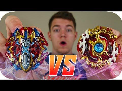 Buster Xcalibur Vs Spriggan Requiem!!!    iLinnuc Beyblade Burst Cho-Z Battle