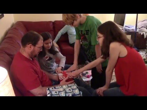 Kids Surprised with Ferrets for Christmas