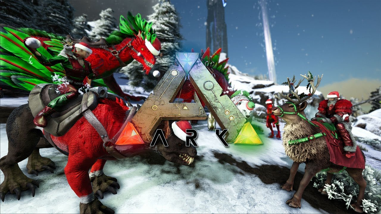 ARK   CHRISTMAS EVENT IS HERE!   NEW UPDATE!   NEW COSMETICS AND