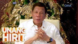 Unang Hirit: Exclusive interview with President Rodrigo Duterte