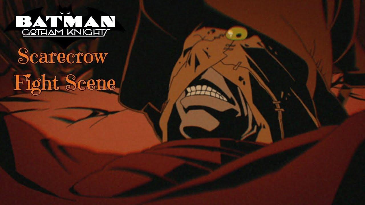 Download Batman vs Scarecrow |Batman Gotham Knight (2008)