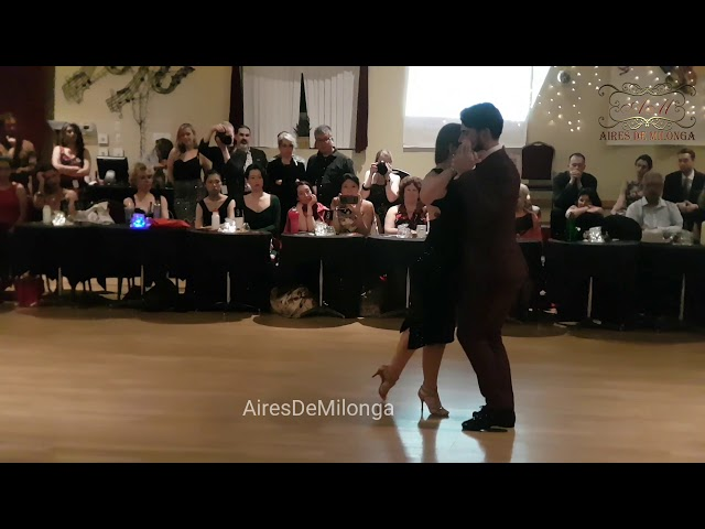 Tango dance show at Loca Marathon, Boston, USA