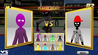 Stickman Wrestling : Stickman Fight Game 2018 - Android GamePlay#15 Full HD