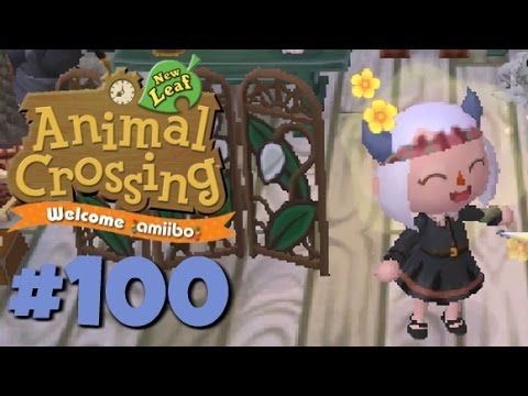 Let's Play Animal Crossing: New Leaf - Welcome amiibo :: #100 :: CELEBRATE (1080p gameplay)