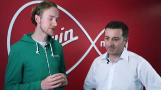 At the launch of Virgin Media's winter discounts with Paul Farrell | bonkers.ie TV Ep.99