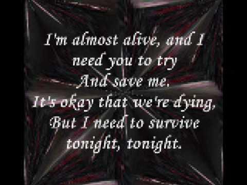 Secondhand Serenade - Half Alive (LYr!cs)