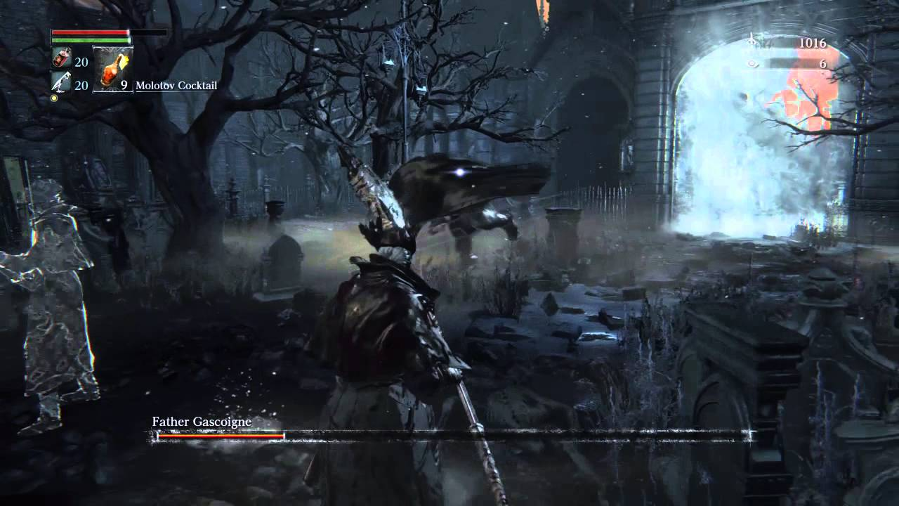 The Easy (Cowardly) Way to Beat Father Gascoigne (No Music Box ...