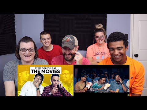 Jordindian | Types Of People At The Movies REACTION!