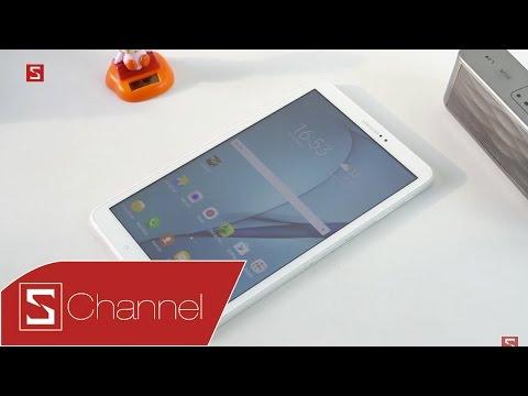 Schannel - Trên tay Galaxy Tab A (2016) 10.1 inch: Hỗ trợ 4G, màn hình lớn, giá 7.9 triệu