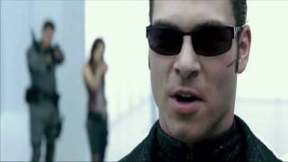 Resident evil afterlife: Albert Wesker Vs Chris and Claire Redfield and Alice *Full Fight HD*