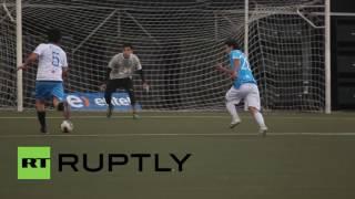 Longest football match sets new Guinness World Record