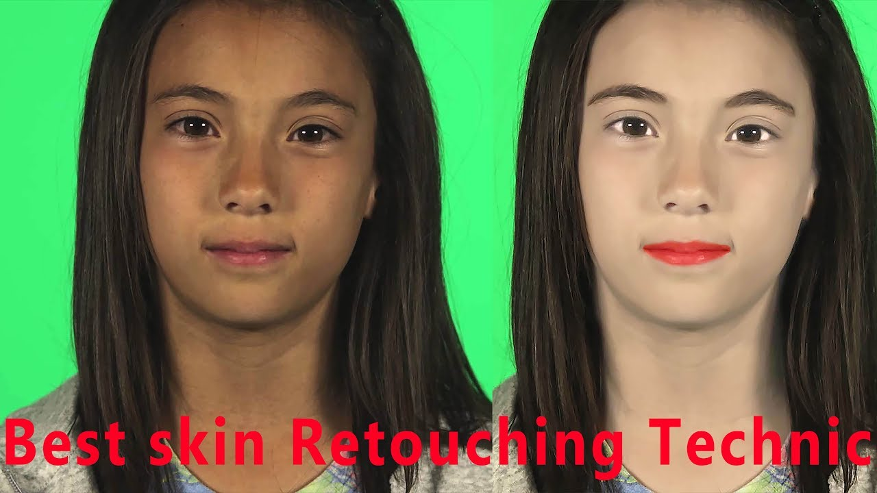 Best skin retouching technic to change skin color photoshop skin best skin retouching technic to change skin color photoshop skin retouching tutorial 2018 hd baditri Image collections