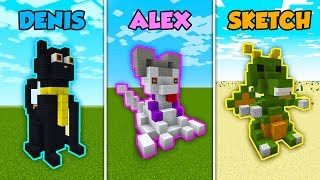 DENIS vs ALEX vs SKETCH - MASCOTS in Minecraft! (The Pals) thumbnail