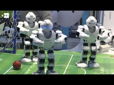 España intenta ser un referente internacional en robótica