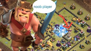 Clash of Clans - SERANGAN PRO PLAYER VS NOOB PLAYER (01)