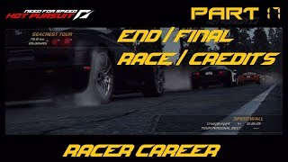 Need for Speed Hot Pursuit (PS3) - Racer Career [Part 17] (END/Final Race/Credits)