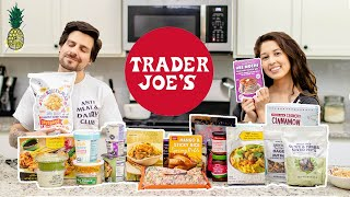 Trying the 'Best' Vegan Items At Trader Joe's | $100 Grocery Haul