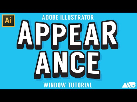 Create Custom Effects Using the Appearance Window in Adobe Illustrator Tutorial