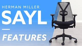 Herman Miller Sayl Features