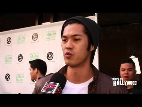 Ross Butler talks support of LAAPFF Wong Fu & Radio Disney Music Awards