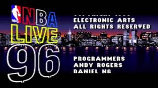 SNES NBA Live 96 Intro
