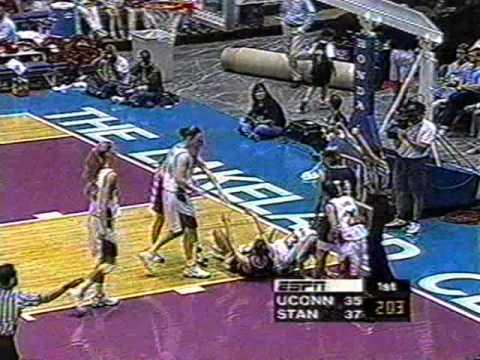 1998 UCONN vs  Stanford Nykesha Sales scores 46