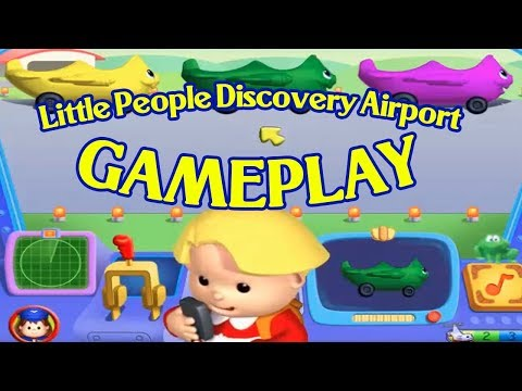 Little People Discovery Airport | FULL GAMEPLAY (ORIGINAL VIDEO)