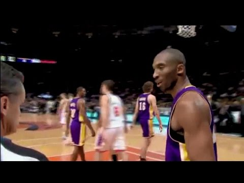 NBA Referees Wired 13 - Kobe Bryant is getting nothing from the referees