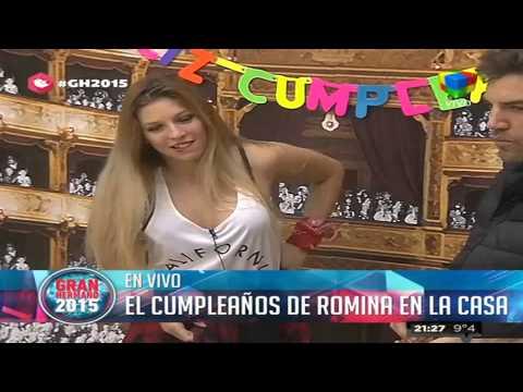 La Casa cantó y celebró el cumpleaños de Romina
