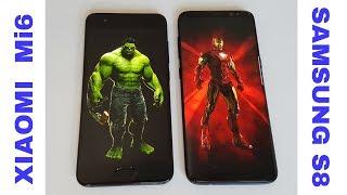 CHE SFIDA! Samsung S8 vs Xiaomi Mi6 | Potenza e bellezza