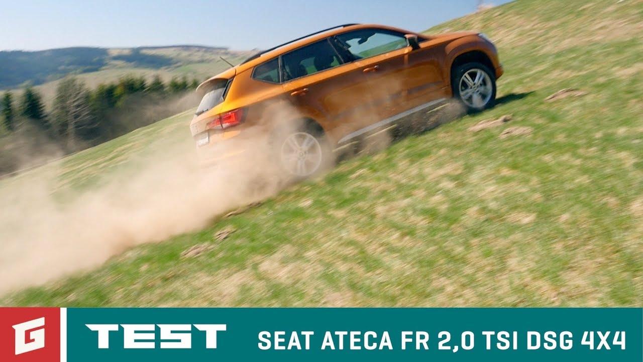 SEAT ATECA FR 2,0 TSI DSG 4DRIVE - SUV - TEST - GARAZ.TV - YouTube