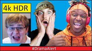 Logan Paul SIDEMEN Collab! #DramaAlert - KSI vs Austin McBroom CDONFIRMED! Adam Saleh & Slim 4K!