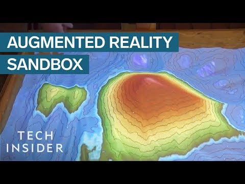 Augmented Reality Maps Change When You Touch Them