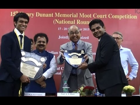 National Law School Bangalore Wins 15th Henry Dunant Memorial Moot Competition3