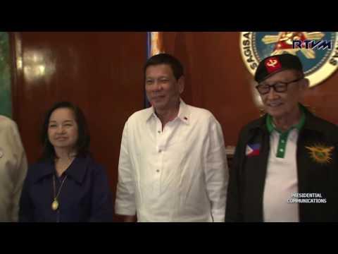 Pres. Rodrigo R. Duterte Meets the National Security Council (NSC), 27 July 2016