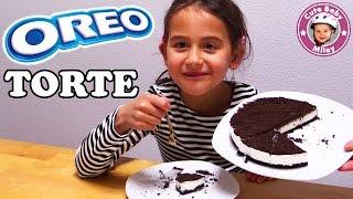 OREO Torte - MILEY und MAMA backen einen Kuchen | CuteBabyMiley Kanal für Kinder