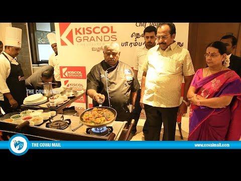 KISCOL Grands Hosts Chef Damu's Thenninthia Parambariya Virundhu