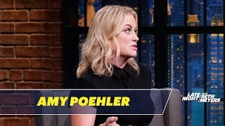 Amy Poehler talks about how her film Wine Country is based on her own trips with the women of SNL and the time she thought she flushed her phone down an ...